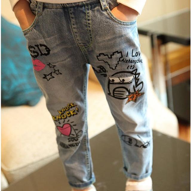 b02e36856c45f ... Children Jeans Pants for Girls Jeans light blue 130cm: Product No:  1480440. Item specifics: Brand: