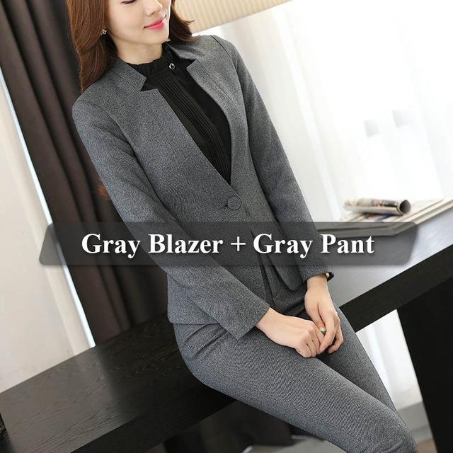 085e26f1ee68 Formal Ladies Office OL Uniform Designs Women elegant Business Work ...