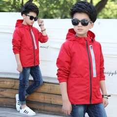2018 Boys Spring Jacket Kids Coats and Jackets Jackets Brand Children Coats Girls Clothes Outerwear red 120cm