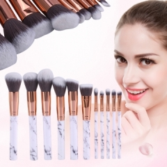 Makeup Brushes Powder Foundation Concealer Eye shadow Eyebrow Lip Blending Make up Brush Beauty Tool white