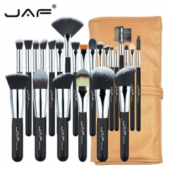 JAF Professional 24Pcs/Set Makup Brushes Premiuim Foundation Powder Make-up Brush Cosmetic Blending as picture