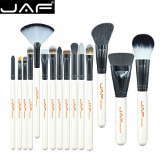 JAF Fashion 15Pcs Makup Brushes Set Premiuim Foundation Contour Powder Facial Blusher Cosmetic Tools as picture