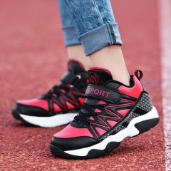 2018 Children Shoes Boys Sport Shoes Comfortable Outdoor Breathable Kids Sneakers For Boy Shoes red 30