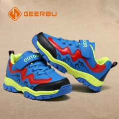 2018 Children Shoes Boys Sport Shoes Comfortable Outdoor Breathable Kids Sneakers For Boy Shoes blue 30