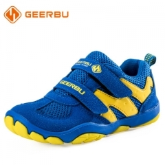 2018 Children Shoes Boys Sport Shoes Comfortable Outdoor Breathable Kids Sneakers For Boy Shoes blue 28