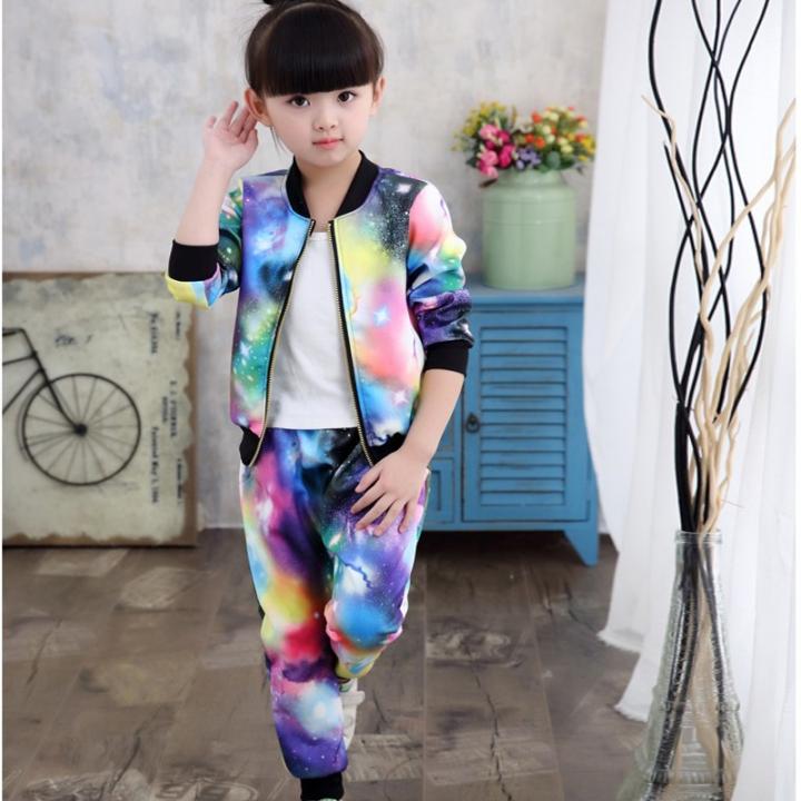 de4d422a9 2018 Jacket for Girls Children Clothes Sets Kids Suit Girls Jacket ...