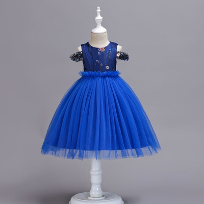 e4f269f8ee05 2018 Kids Dresses For Girls Party Dress Summer Dress Elegant ...