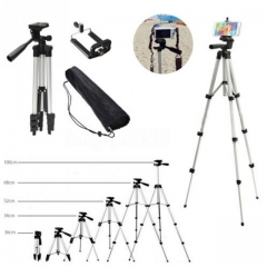 Aluminum Professional Telescopic Camera Tripod Stand Holder For Digital Camera Camcorder Tripod silver 35cm