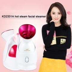 Hot selling skin care instrument deep clean steam Whitening Face ozone mask thermal spraying device white