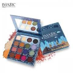 IMAGIC Eye shadow Pallete Makeup 16 Colors Waterproof Eyeshadow Professional Cosmetics as picture