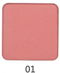 Matte Shimmer Blusher Foundation Face Makeup Palette Long-Lasting Check Blush Powder Maquiagem 01
