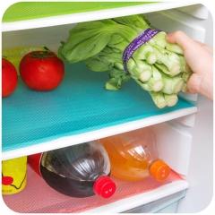 8PCS Multifunction Refrigerator Mat Fridge Anti-fouling Anti Frost Waterproof Pad green 8pcs