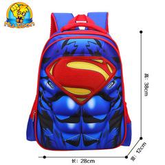 EVA 3D Captain America children school bags Boy Spiderman school Backpack Suitable for kids #04 Trumpet