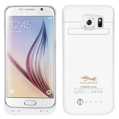 For Samsung S6 edge Power Case for Galaxy s6/S6 edge Power Bank Battery Charger Case Battery Case white Samsung S6 edge