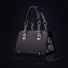 Women Leather Splice Handbag Shoulder Bag Crossbody Bag Tote Bag Luxury High Quality Crossbody Bags black 29cm*20cm12cm
