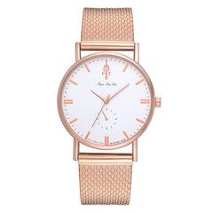 Simple Fashion Ladies Watch  Mesh Watch Fashion Casual Women Stainless Steel Quartz Wristwatches 01 one size