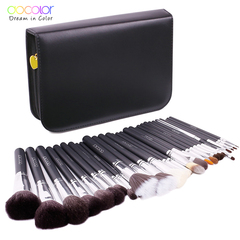 Docolor 29PCS makeup brush kit Professional Cosmetic Brush set High Quality Makeup make up brushes as picture