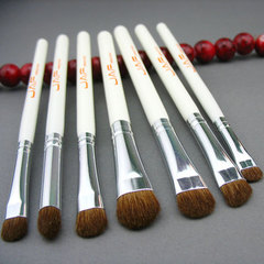 High Quality Makeup Brush 7pcs Pony Hair professional make-up Lip brush contour brushes white
