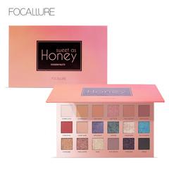 Focallure Eyeshadow 18 Colors Long-lasting Glitter Pigment Waterproof Easy to Wear Eye Shadow a1