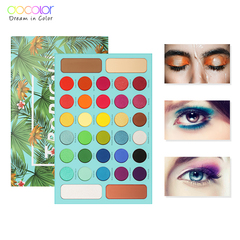 Docolor Professional Eyeshadow Palette 34 Color Charming Eyeshadow Palette Make Up Palette Set Kit as picture