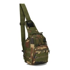 Hiking Trekking Backpack Sports Climbing Tactical Camping Hunting Daypack Military Shoulder Bag camouflage 28*18*13