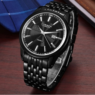 Watches Men Luxury Brand Business Casual Watch Quartz Watches relogio masculino black one size