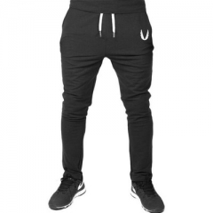 High Quality Jogger Pants Men Fitness Bodybuilding Gyms Pants For Runners Brand Clothing balck m