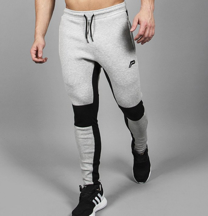 Brand Cotton Pants Men Joggers For Man Brand Clothing Fashion Style Tactical Pants gray 2xl