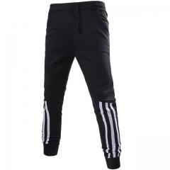 New Fashion clothing Mens Pants Comfortable Sweatpants Pants Men Sportsman Wear Trousers black m