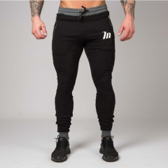 Newest Pants men Gyms Clothing Men Joggers Pantalon Homme Gyms Professional Bodybuilding Sweatpant black m