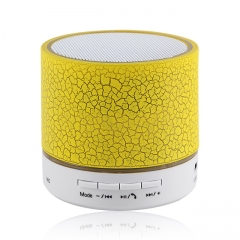 Bluetooth Speaker Portable Wireless Speakers For Phone Musical Subwoofer Loudspeakers yellow 61*61*62mm