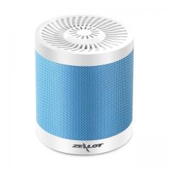 Mini Bluetooth Speaker Wireless Stereo Mini Portable Pocket Audio Support Handsfree TF Card sky  white 72mm*80mm