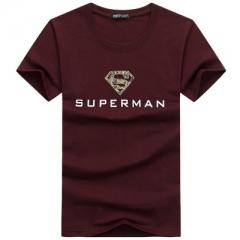 mens t shirts fashion 2017 tee shirt men short sleeve t shirt men t-shirt brand camisetas hombre wine red m