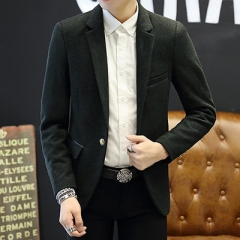 New Arrival Business mens blazer Casual Blazers Men Formal jacket Popular Design Men Dress balck m