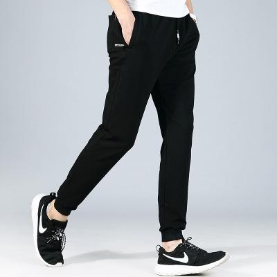 Men's Sweatpants New Joggers Pants Elastic Waist Loose Cotton SweatPants For Men Casual black m