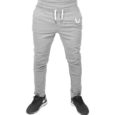 Jogger Pants Men Fitness Bodybuilding Gyms Pants For Runners Clothing Autumn Sweat Trousers Britches gray m