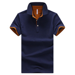 Solid Mens POLO Shirts Brand Cotton Short Sleeve Camisas  Shirt 4XL 03 m polyester,cotton