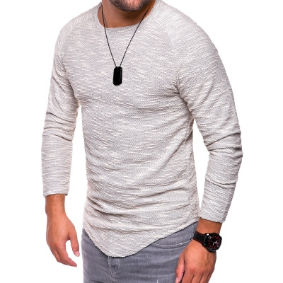 539ff9a565da6 New Design Fashion Men's T-Shirt 2018 Summer Long Sleeve Solid Color T  Shirt Men white 3xl cotton: Product No: 7791480. Item specifics: Seller  SKU:K466 ...