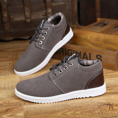 England tooling men's casual low-top shoes student canvas shoes sports men's shoes A156 gray 39