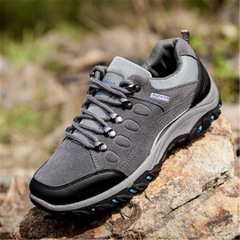 outdoor sports tactical camping shoes men's hiking shoes breathable light wading gray 39