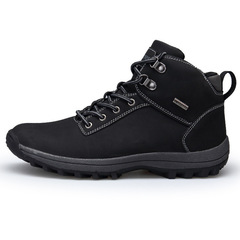 Hiking Shoes Men Spring Hiking Boots Mountain Climbing Shoes Outdoor Sport Shoes Trekking Sneakers black 39