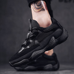 sneakers  kanye fashion west mesh light breathable men casual shoes men sneakers zapatos black 39
