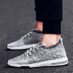 Men Breathable Mesh Summer Outdoor Trainers Casual Walking Unisex Couples Sneaker Mens Fashion gray 39