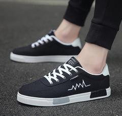 Canvas Shoes Men Sneakers Low top Black Shoes Men's Casual Shoes Male Brand Fashion Sneakers 01 39