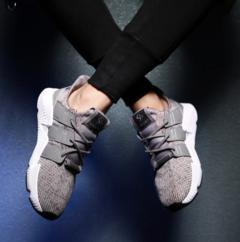 Mannen Schoenen Lente Zomer Schoenen Mannen Hoge Kwaliteit  Voor Mannelijke Demping Sneakers gray 39