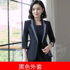 Hot Ladies Dress Suit for Work Full Sleeve Blazer Sleeveless Dress Set For Businesss Women Suit black ,coat s
