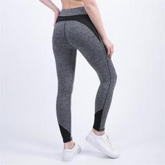 Slim Fitness Long Pants Side Striped Elastic Waist Gyms Leggings Jogger Sweatpants Female Trousers black s