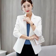 Ladies Blazer Long Sleeve Blaser Women Suit jacket Female Feminine Blazer Femme Blazer Autumn white s