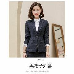 2019 Hot Work business Women's skirt suits Set for women blazer office lady clothes Coat Jacket suit black ,coat s