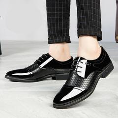 2019 men dress shoes formal oxfords wedding business social handsome office shoes men black 38 leather